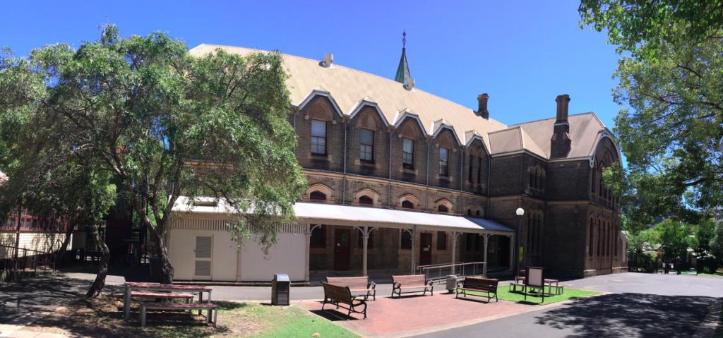 CIC Courtyard panorama