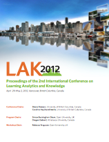 2nd Int. Conf. Learning Analytics & Knowledge